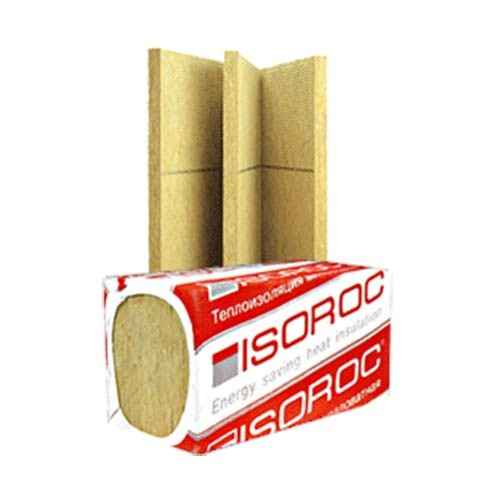 Утеплитель Изорок.(Isoroc) Изолайт Плотн 50.100 мм.уп 4 шт 2 м2
